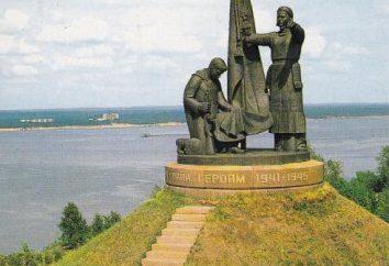 Pomnik Chwały Wojskowej (Cheboksary): opis i zdjęcia