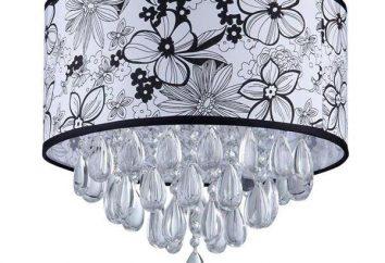 Lampshade en tissu – la dignité de base. Pour toute lampe textile combinaison spatiale?