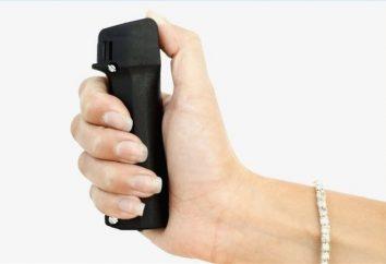 armes de gaz et d'autres moyens d'autodéfense