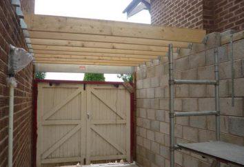 Jak zrobić dach na garażu z rękami? Projekt, materiały, narzędzia
