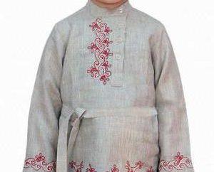 Shirt folklorique russe: description, caractéristiques couture, modèle, photo