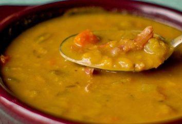 """Cómo cocinar una sopa de guisantes nutritivo en multivarka """"Panasonic""""?"""