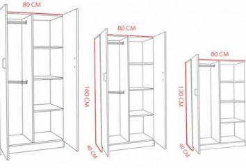 Dimensioni armadi (disegni)