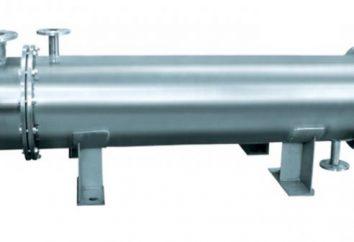 Scambiatore di calore. Tipi di scambiatori di calore. Classificazione degli scambiatori di calore