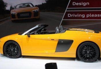 El nuevo Audi R8 presentó en el Salón Internacional del Automóvil de Nueva York