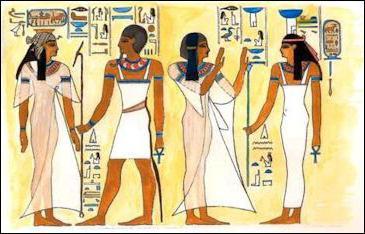 Abbigliamento dell Antico Egitto. Faraoni in Egitto Abbigliamento 5ca1c4f252d