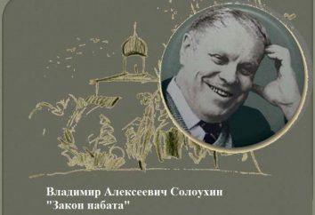 """Vladimir Alekseevich Solouhin, """"Prawo tocsin"""": podsumowanie głównych bohaterów"""