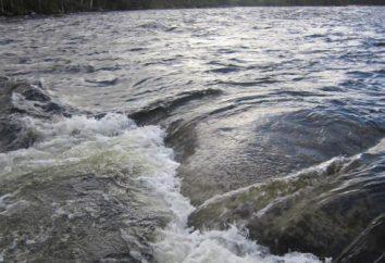 Zimowe połowów na małych rzekach