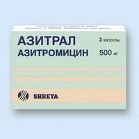 """farmaco """"Azitral"""". Istruzioni per l'uso"""