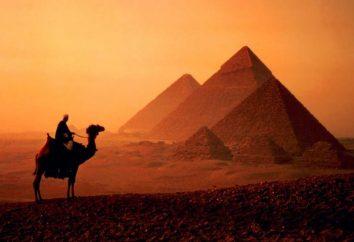 Egypte en Octobre: le temps et les prix