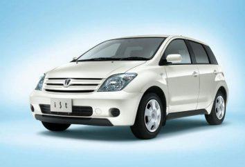 Toyota Ist: dane techniczne i opisy japońskiego samochodu kompaktowego