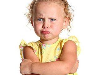 Histeria dziecka (2 lata). napady złości dzieci: co robić?