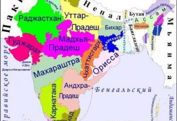 Combien d'Etats en Inde: une division administrative du pays