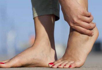 Ból stopy między piętą a czubkiem: przyczyny i leczenie