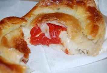 """pasteles deliciosos y originales """"bombas"""" con tomate y queso"""