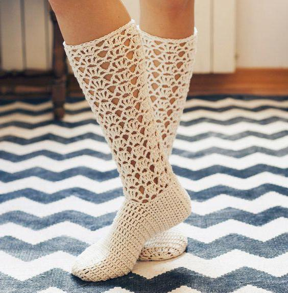 Häkeln Socken: Systeme, Beschreibung, Empfehlung