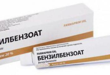 """¿Cómo curar la sarna en un día? Preparaciones para la sarna. """"Benzoato de benzilo"""" (pomada): instrucciones de uso"""
