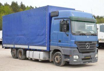 Mercedes-Benz Axor: modelos, especificações, operação e manutenção