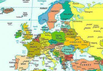 La liste complète des pays européens