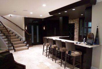 Bar w salonie: komfort i wygodę