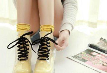 chaussures transparentes: règles de sélection, stylistes conseils
