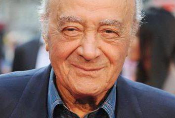 Mohamed Al-Fayed: biografía y foto