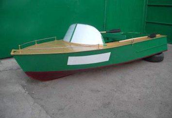 Motorboot MKM: technische Spezifikationen, Beschreibung, Reparaturen. Duraluminium Boote