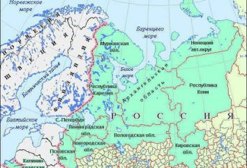 Russia nord-occidentale: economia e geografia
