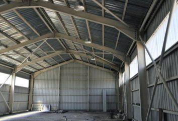 Prefabrykowanych hangary: korzyści, cechy i rodzaje instalacji