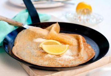Crêpes avec du lait: les ingrédients de la recette. Quels sont les ingrédients pour les crêpes avec kéfir?