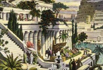 Czy tam były wiszące ogrody i dlatego zostały nazwane na cześć Babilonu?