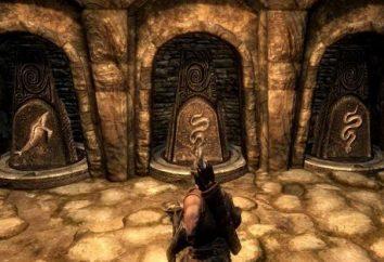 """Al igual que en """"Skyrim"""" abre la puerta a una garra de oro? El pasadizo secreto"""