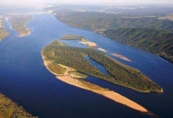 Los ríos que desembocan en el mar Caspio: una lista, descripción, características y naturaleza