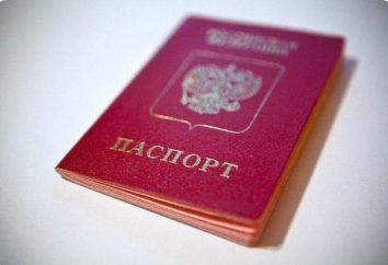 Come compilare una domanda per un passaporto del vecchio modello? applicazioni di esempio per vecchio passaporto