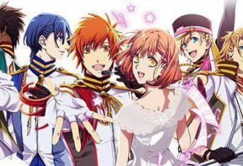 "I personaggi principali: ""Cantando Principe"". Haruka Nanami, Otoya Ittoki, Masato Hidzirikava – personaggi degli anime ""Singing Principe"""