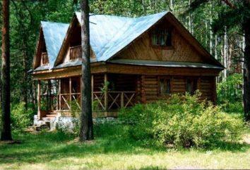 """Il centro ricreativo """"Kustorka"""": riposo in una pineta"""