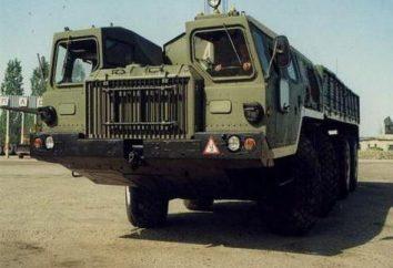 MAZ 7310 – pocisków balistycznych cztery kompleksy transporter