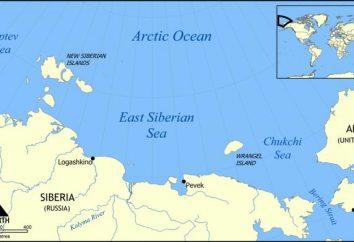 Sibérie orientale de la mer. La profondeur de l'île, les ressources et les problèmes de la mer de Sibérie orientale
