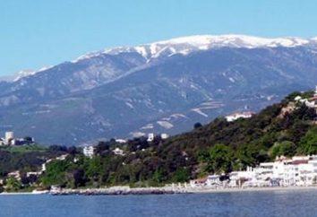 Der malerische Griechenland Pieria – der Wohnsitz der Götter