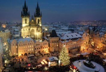 Natale a Praga o nelle vicinanze di Magia