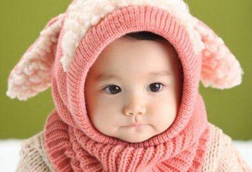 Bebê Cap-chapéu – uma ótima opção no inverno frio