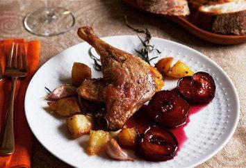 Une recette simple pour les jambes de canard