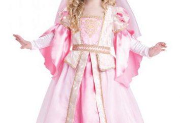 Prinzessin Kostüm mit seinen eigenen Händen: Muster, Nähanleitung