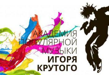 Academia Igor Krutoy: vocal, coreografía, actuando para los niños. Academia de música popular de Igor Krutoy