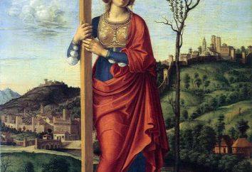 """""""Santa Elena"""" (icono): descripción y significado"""