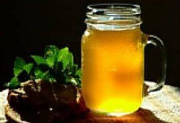Uma boa receita para okroshka kvass