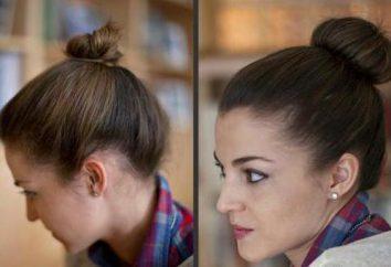 Como fazer um coque no cabelo curto?