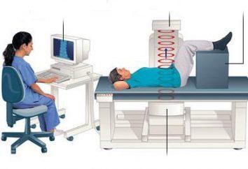 Densitométrie – quel est-il? Ostéodensitométrie et la colonne vertébrale: les indications et les prix