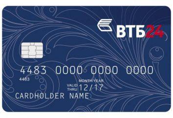 cartes de salaire de VTB 24: Inscription et avantages