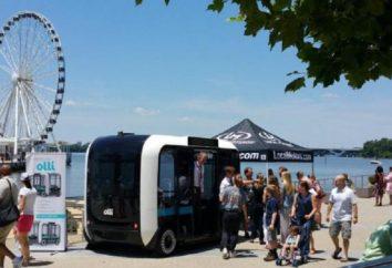 Rencontrer le « Ollie », le premier minibus imprimé l'imprimante 3D